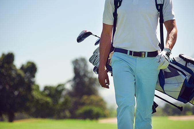 ゴルフ初心者の重要なキャディバッグ