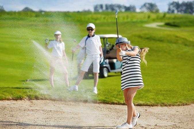 ゴルフ初心者が知って得する!練習方法