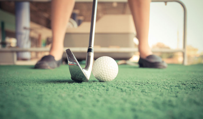 ゴルフ初心者によくある打ちっ放しでの困り事2つ