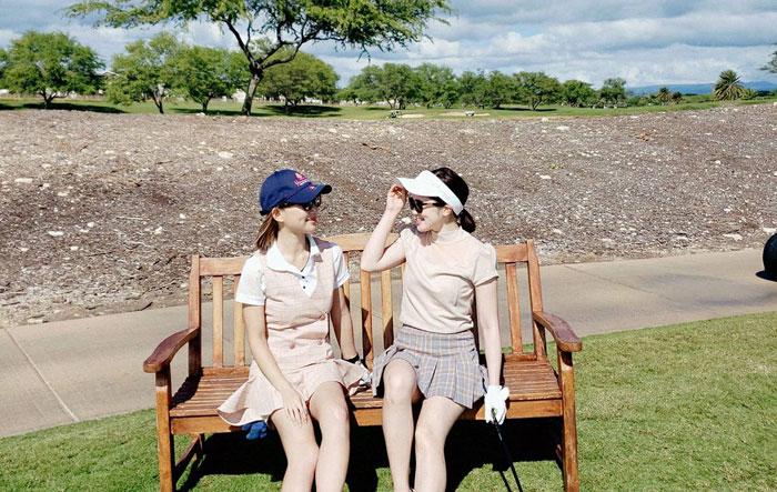 ゴルフリッチのコラム。ゴルフ女子の日常:保坂玲奈さん