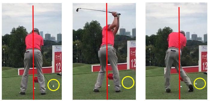 自己流ゴルフスイングをしている人におすすめのコツは、頭を動かさないこと