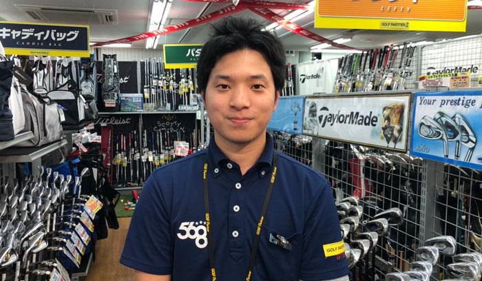 ゴルフパートナー日本橋てんで中古クラブを扱う店長インタビュー