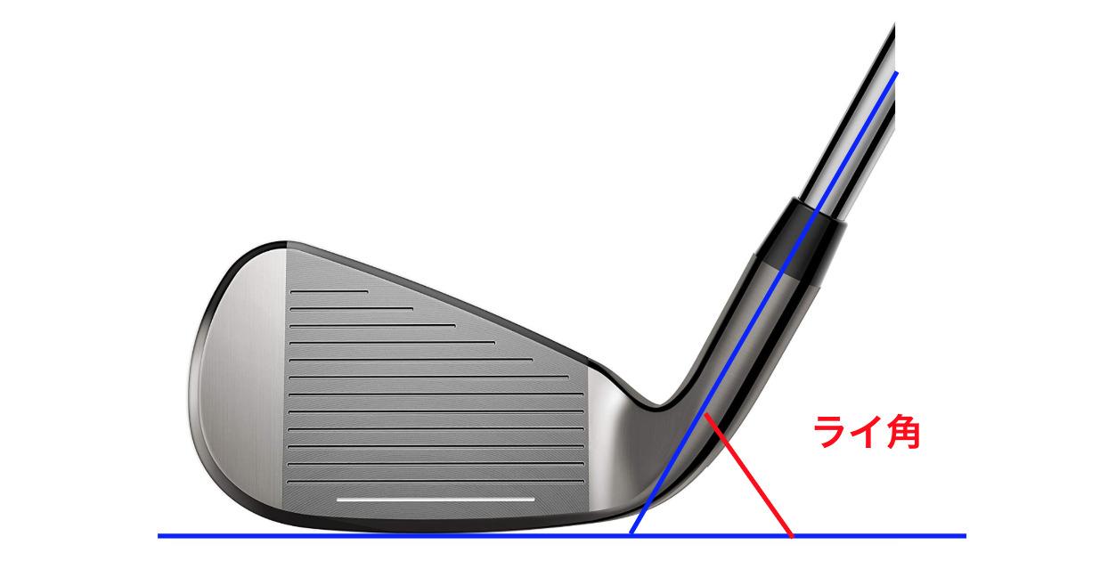 ゴルフのライ角