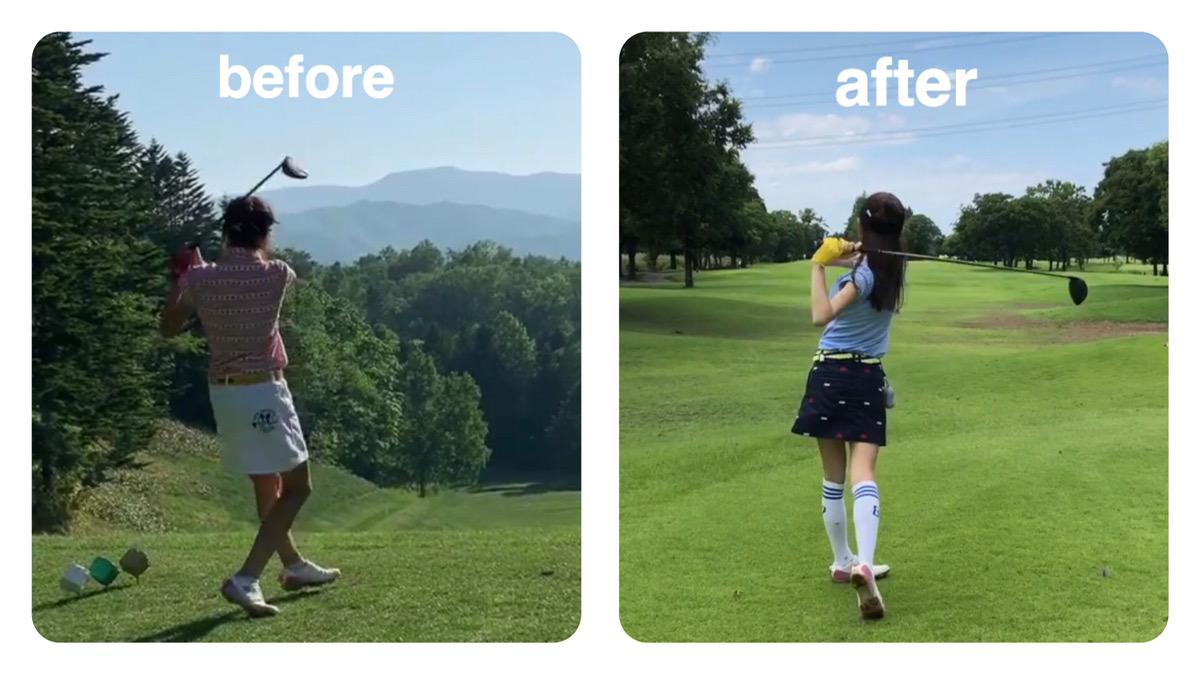 ゴルフスイングで正しい体重移動を身につけて飛距離UP