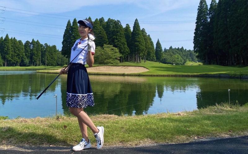【ゴルフ初心者女子コラム#4】2ヶ月で100切り達成!柴田花菜さん